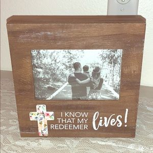 COPY - WOOD PHOTO FRAME